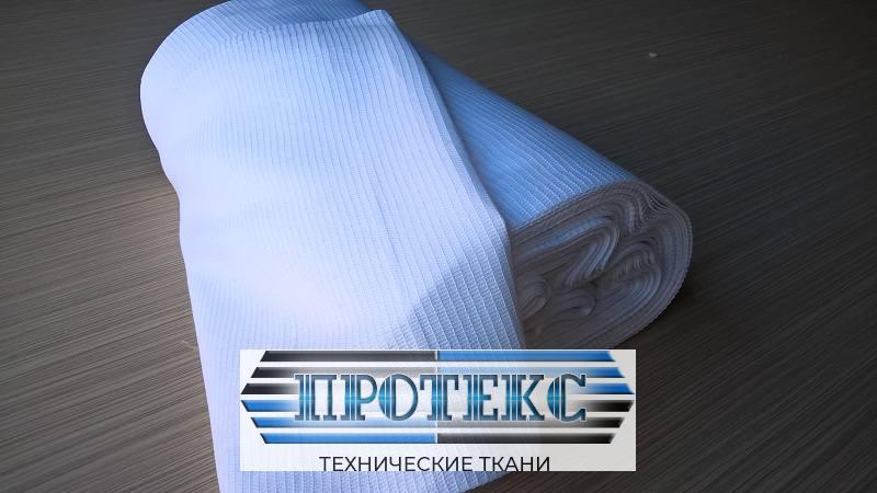 Ткань вафельная полотенечная отбеленная