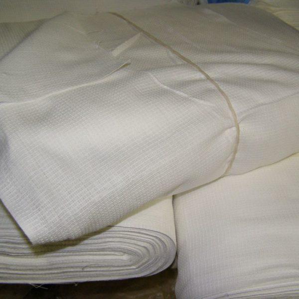 Вафельная полотенечная ткань